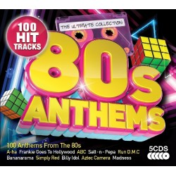 80s Anthems - 5 CDs - 100 hit 80s Tracks