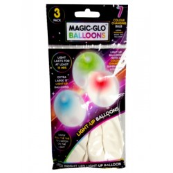 Magic Glo LED colour changing balloons