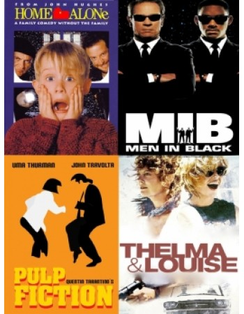 90s Film and TV Posters