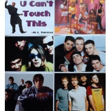 90s Pop Star and Bands Posters