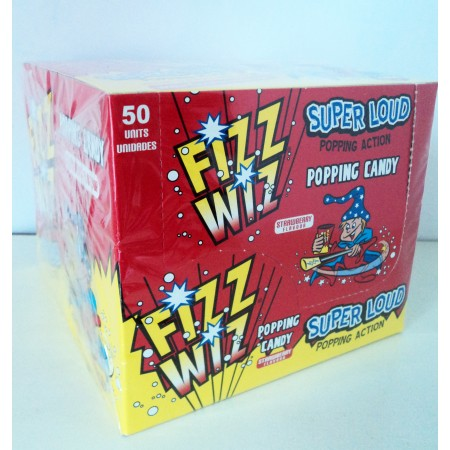 Box of 50 Fizz Wiz Space Dust / Popping Candy