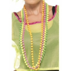 80s Neon Beads - Four Colours Available