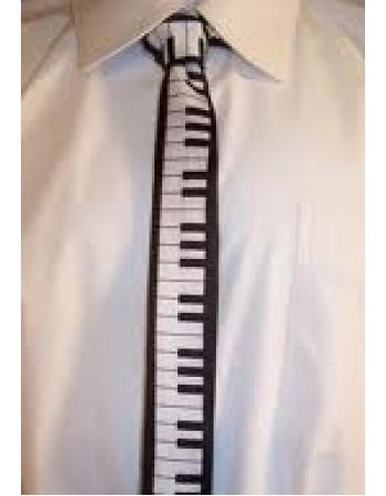 80s Piano Skinny Tie