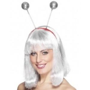 Silver Glitter Head Boppers