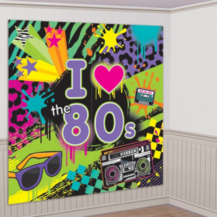 80s party decorations pack 80s party pack 80s themed for 30th birthday decoration packs