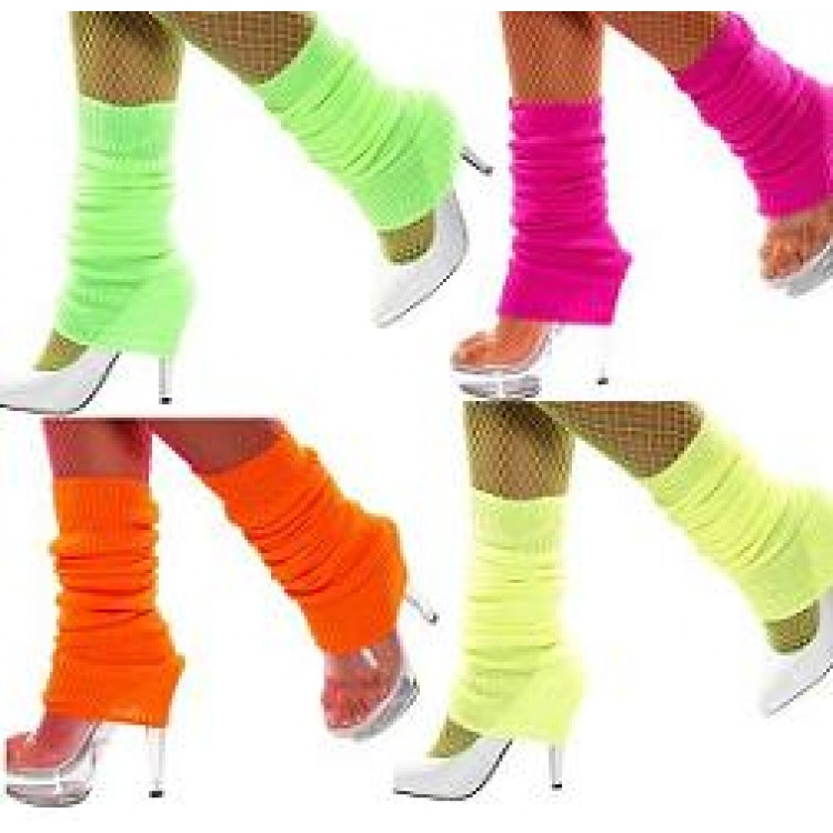 how to wear leg warmers in the 80s