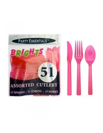 Neon Plastic Cutlery - 3 colours available
