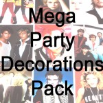 80s Party Decoration Packs