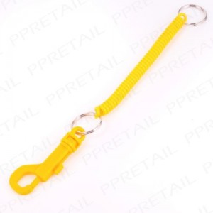 80s Spring Key Rings  - Five Colours Available