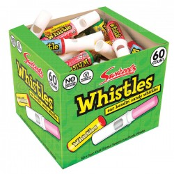 Box of 60 Candy Whistles