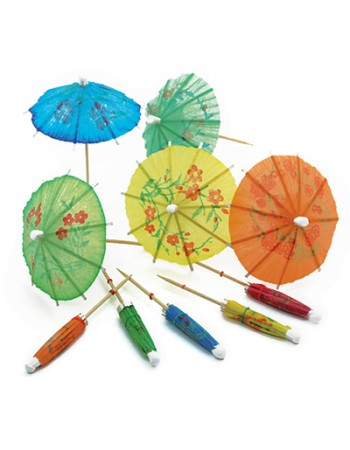 80s Cocktail umbrellas