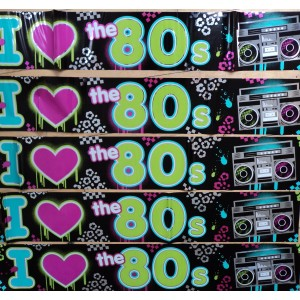 I Love the 80s Banner