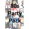 80s Party Decorations Pack