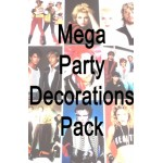 Mega 80s Party Decorations Pack