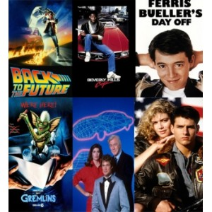 80s Film and TV Posters