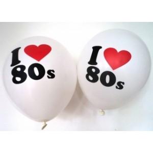 ILove 80s Balloons