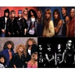 80s Rock and Metal Posters