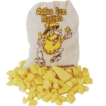 Golden Gum Nuggets Bubblegum