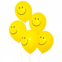 90s Smiley Face Acid House Balloons
